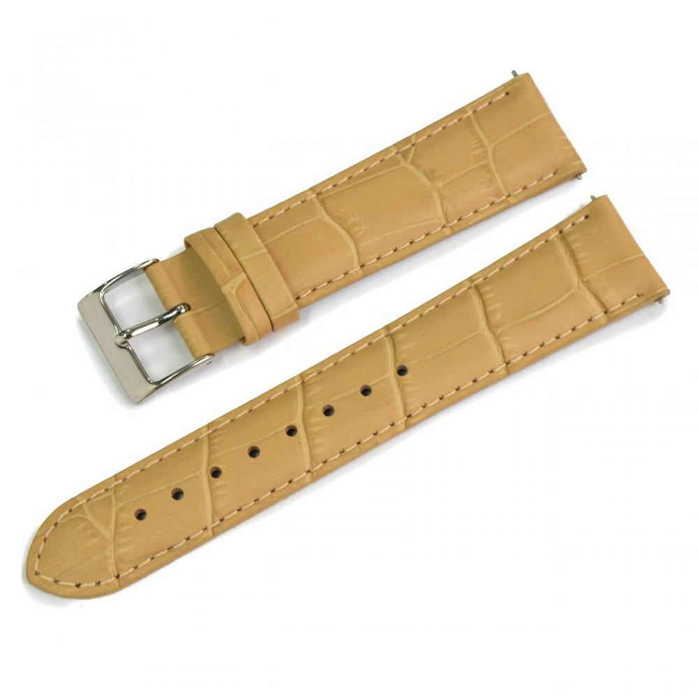 CASSIS Calf embossed watch belt Backside waterproof material AVALLON Avalon 20mm Crete with replacement tool X1022238029020M