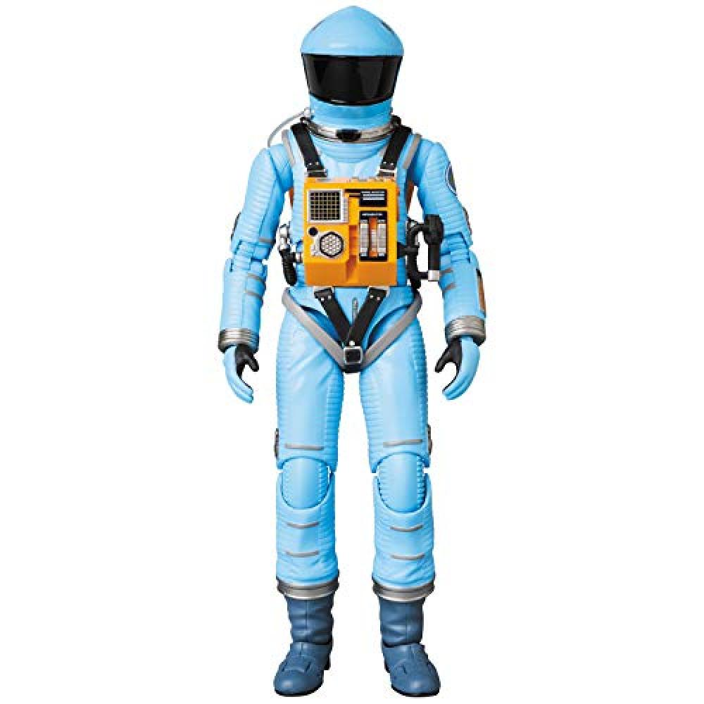 MAFEX Mafekkusu No.090 travel space suit light blue version of 2001: A Space Height approx 160mm painted action figure