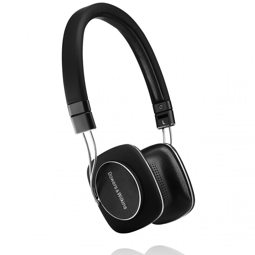 Bowers & Wilkins P3 Series 2 Headphones On-ear Black P3 Series2