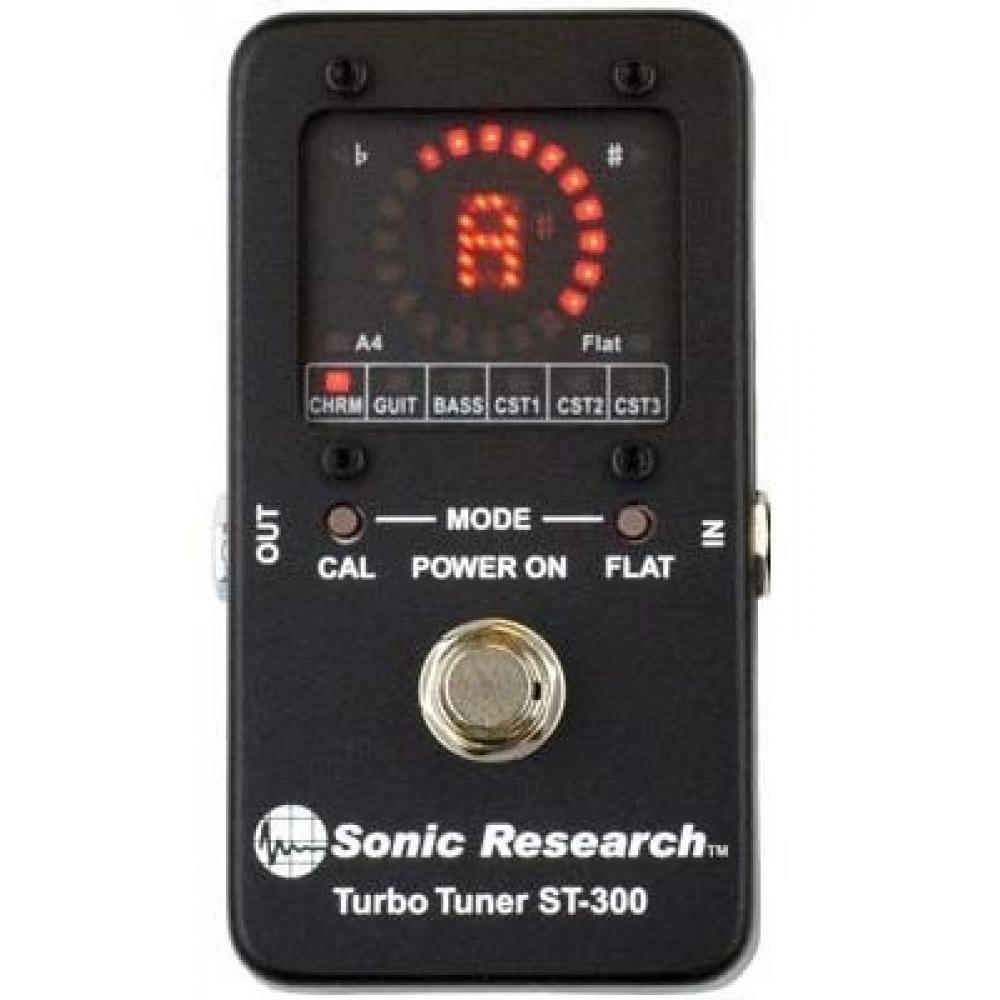 Sonic Research ST-300 Stompbox Strobe Tuner