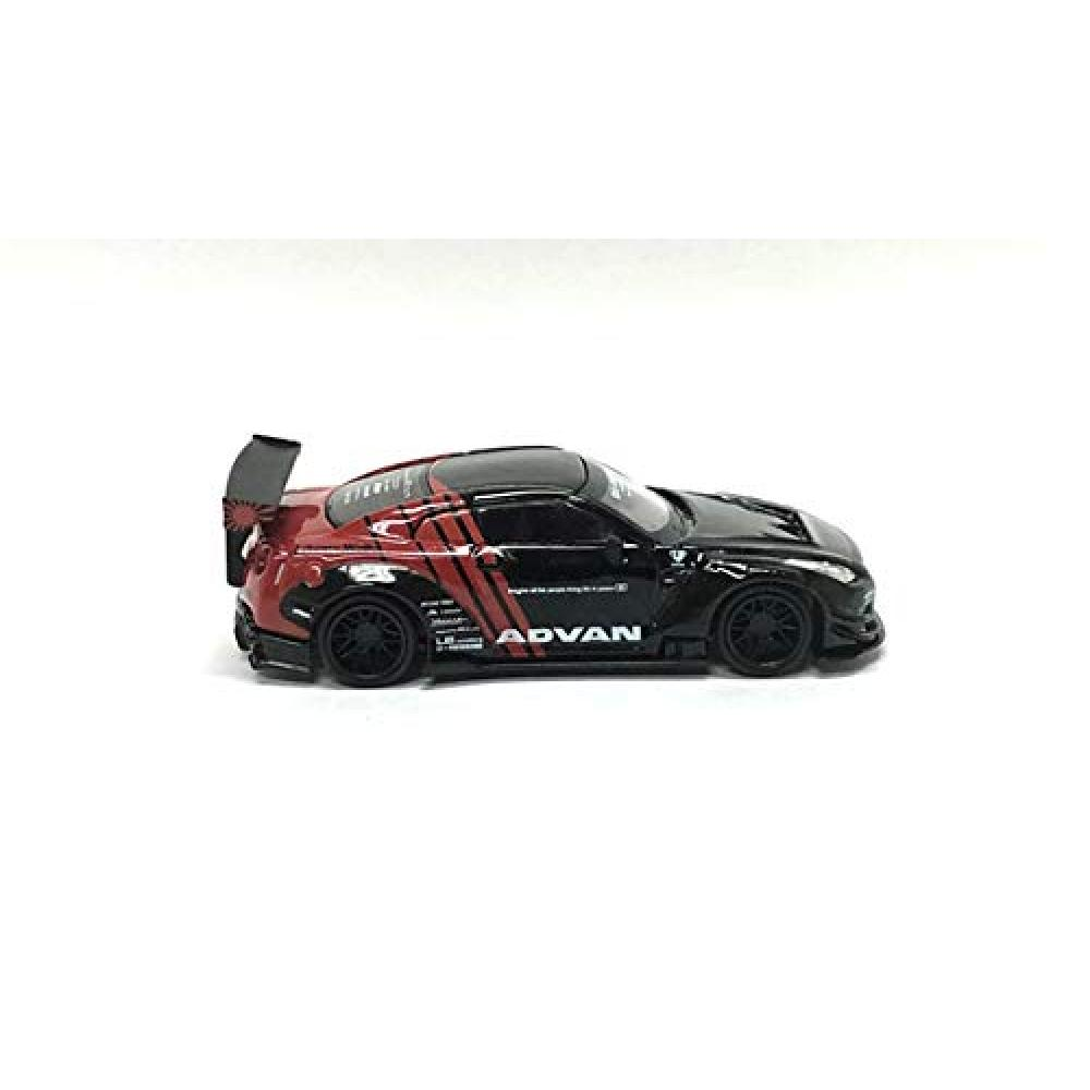 MINI GT 1/64 LBWORKS Nissan GT-R R35 type 2 rear wing version 3 ADVAN finished product