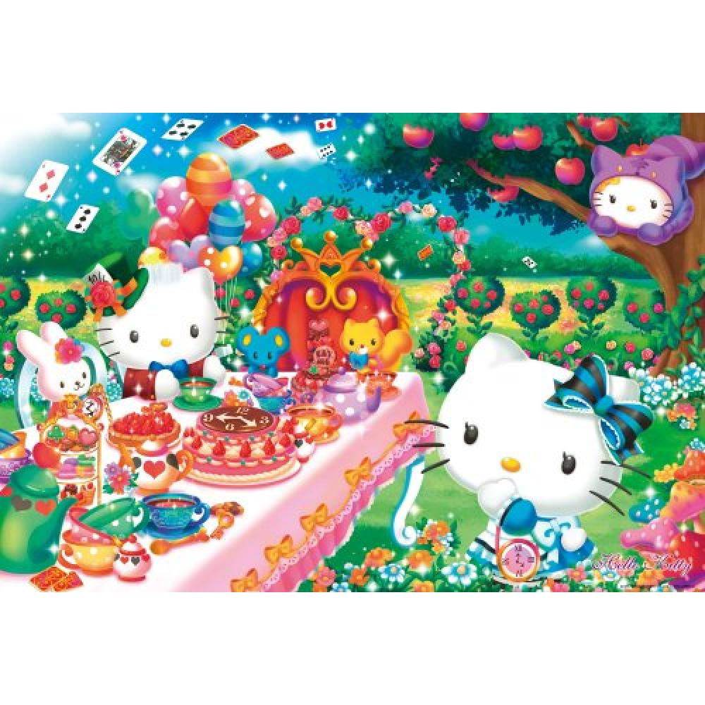 1000 Piece Jigsaw Puzzle Hello Kitty Tea Party (49x72cm)
