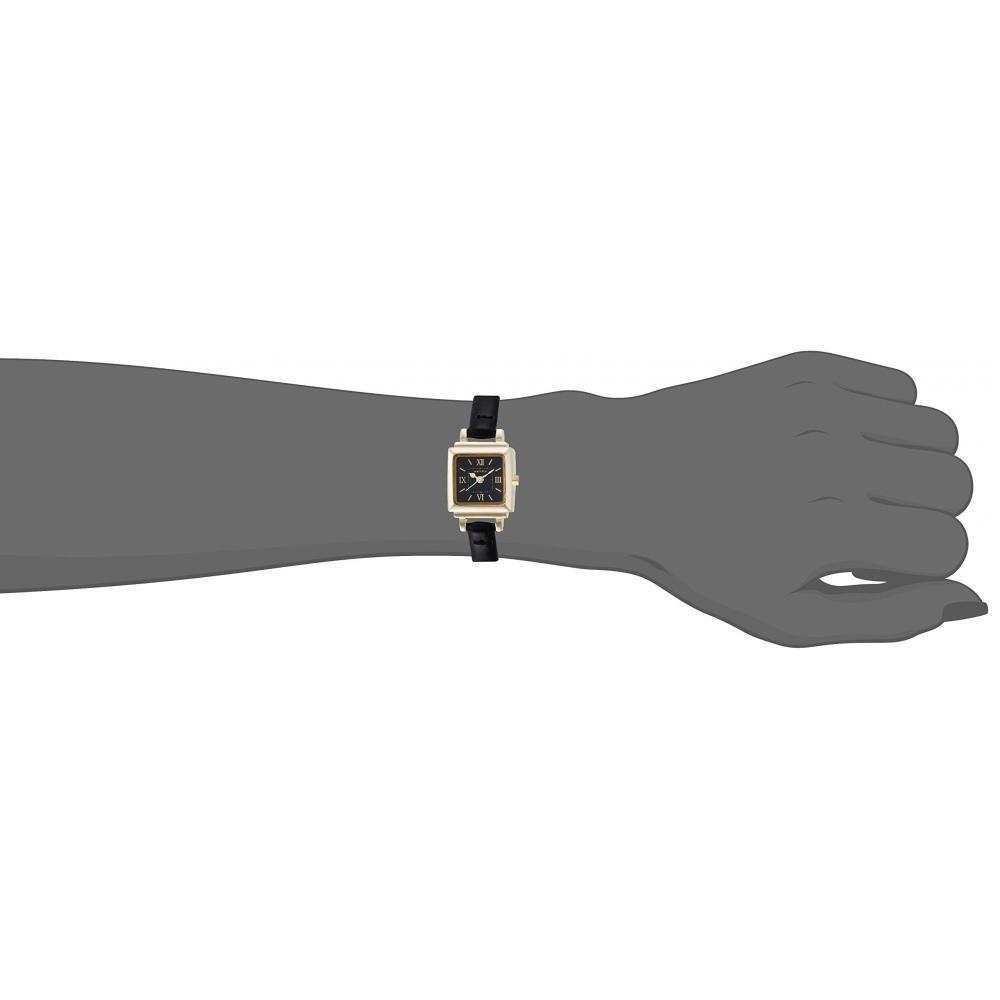 Fieldwork watch Fashion Watch nattito Tsuyan leather belt black QKS113-6 Ladies Watch