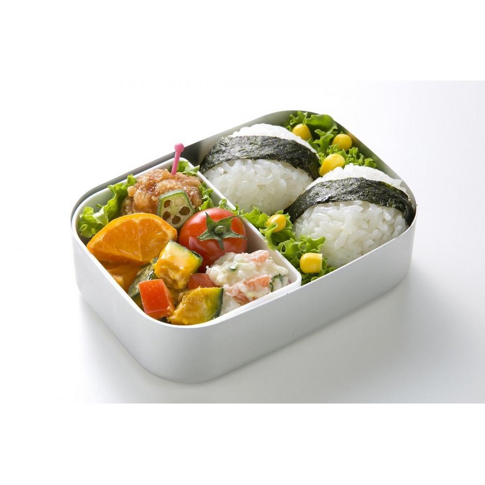 Lunch box for skaters children Aluminum rails made in Japan 370ml ALB5NV