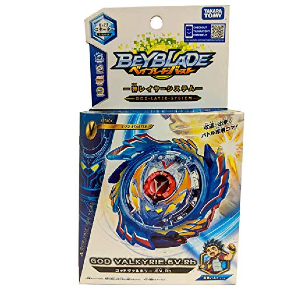 Beyblade burst B-73 starter God Valkyrie .6V.Rb