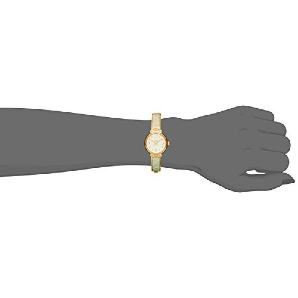 Fieldwork watch Fashion Watch nattito Trevor bangle Green × White ST127-4 Ladies