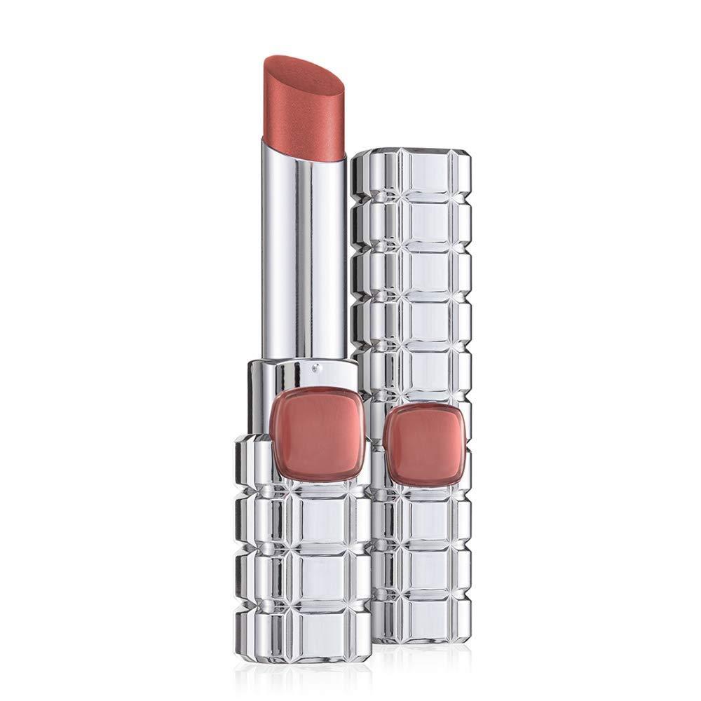 L'Oreal Paris Lip Shine on 905 Tea Rose Eternite Nude gloss