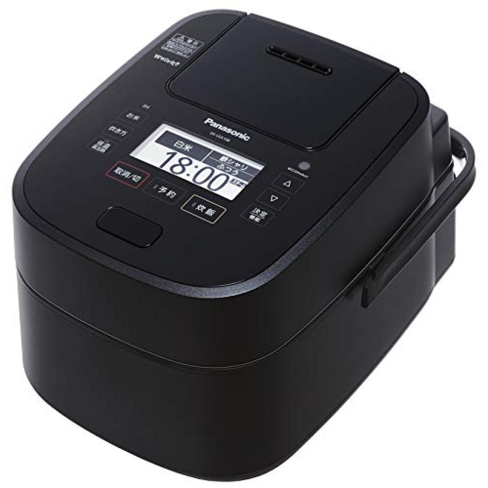 Panasonic rice cooker 5.5 Go steam & variable pressure IH formula W dancing cook black SR-VSX108-K