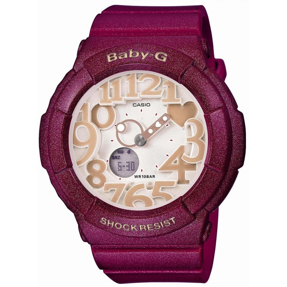[Casio] Watch Baby Gee Smoky Color Series Neon Illuminator BGA-131-4B2JF