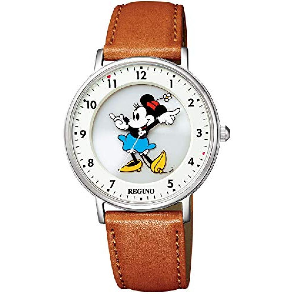"Watch REGUNO Regno Solar Tech simple series Disney Collection ""Minnie"" model KP3-112-12"