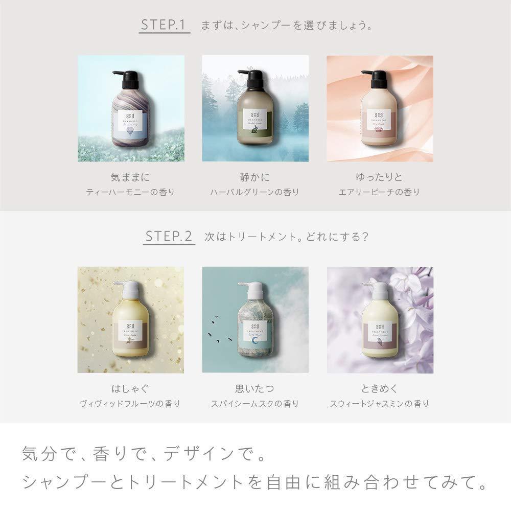 andand (Non-Silicone Prescription) Treatment Sweet Jasmine Scent Refill 480ml