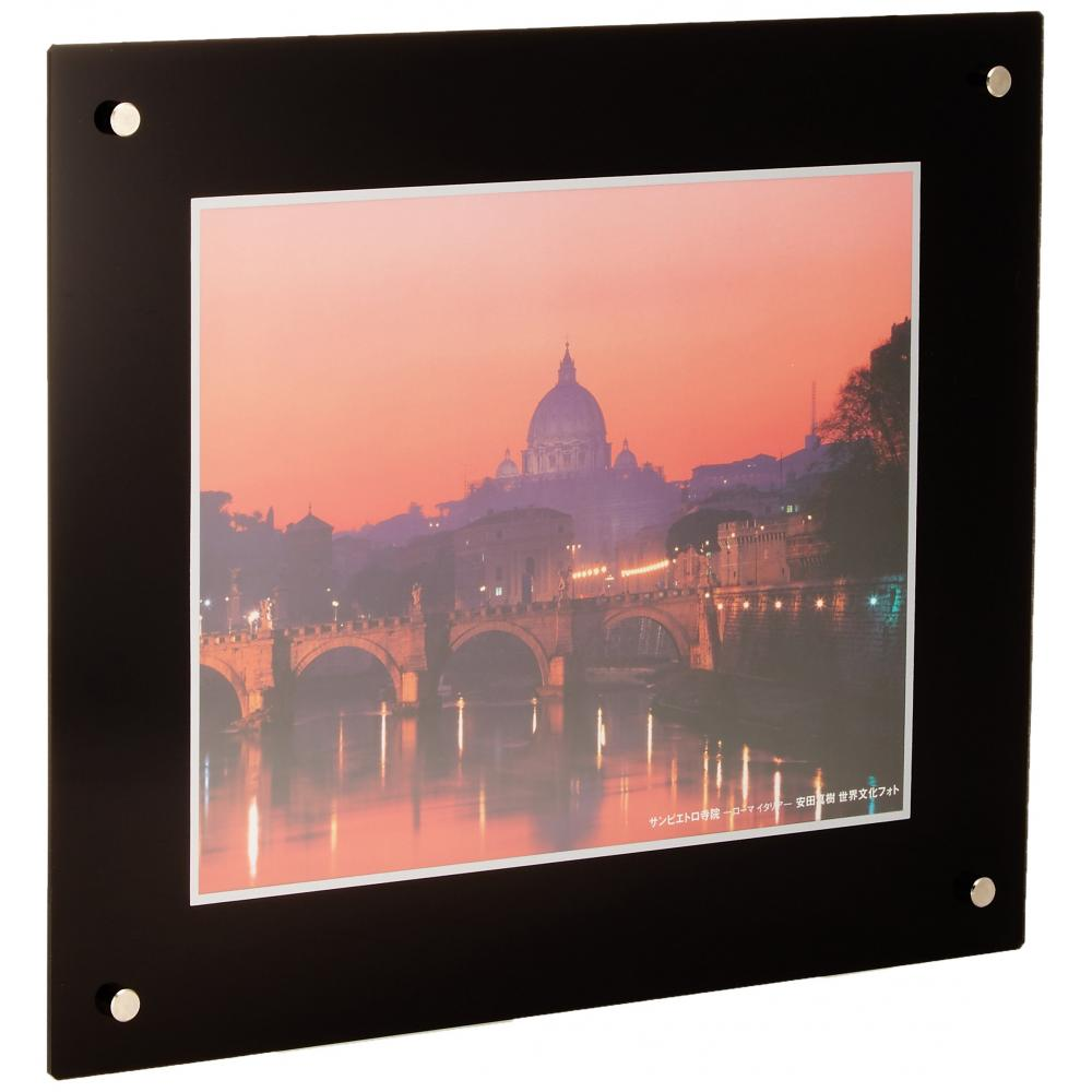 FUJICOLOR Picture frame Pro frame 6 out acrylic black 40113