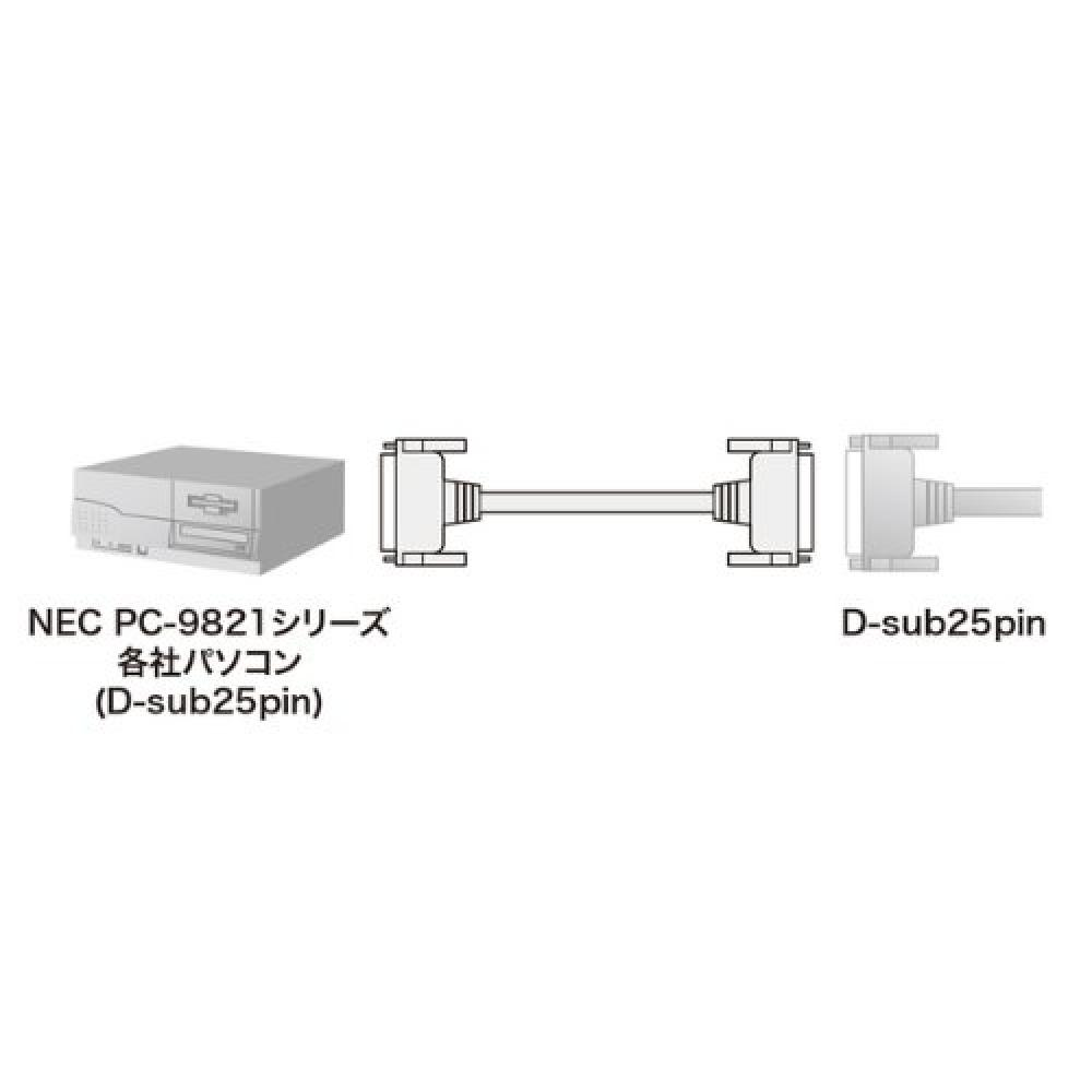 Sanwa Supply RS-232C cable 10m KRS-006N