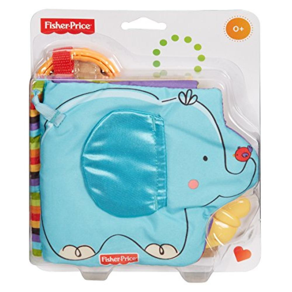 Fisher-Price animal full! Outing cloth picture book T9239
