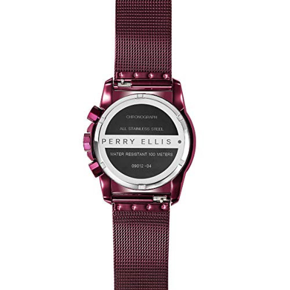 [Perry Ellis] Watch Decagon GT 09012-04 Mens