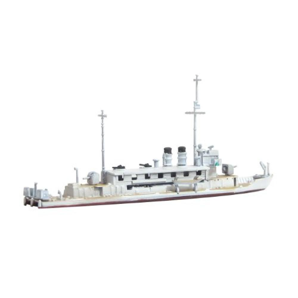 Aoshima Bunka Kyozai 1/700 Water Line Series Japanese Navy gunboat Seta / Hira Model 546