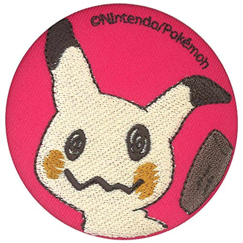 Minoda Pokemon Sun Moon Embroidered pocket mirror Mimikkyu T01M9083
