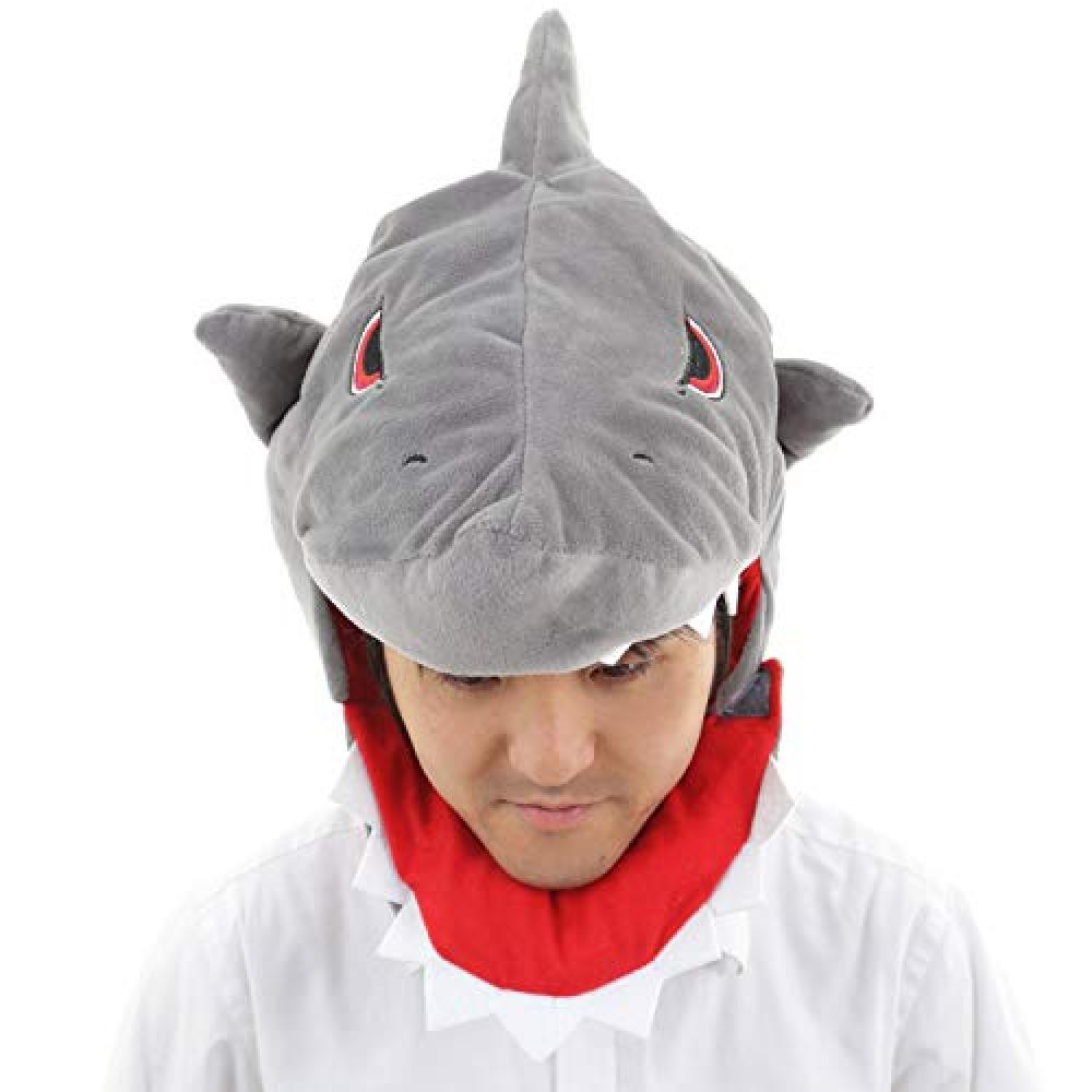 (Yotei) Youtei head covering plush toy (shark)