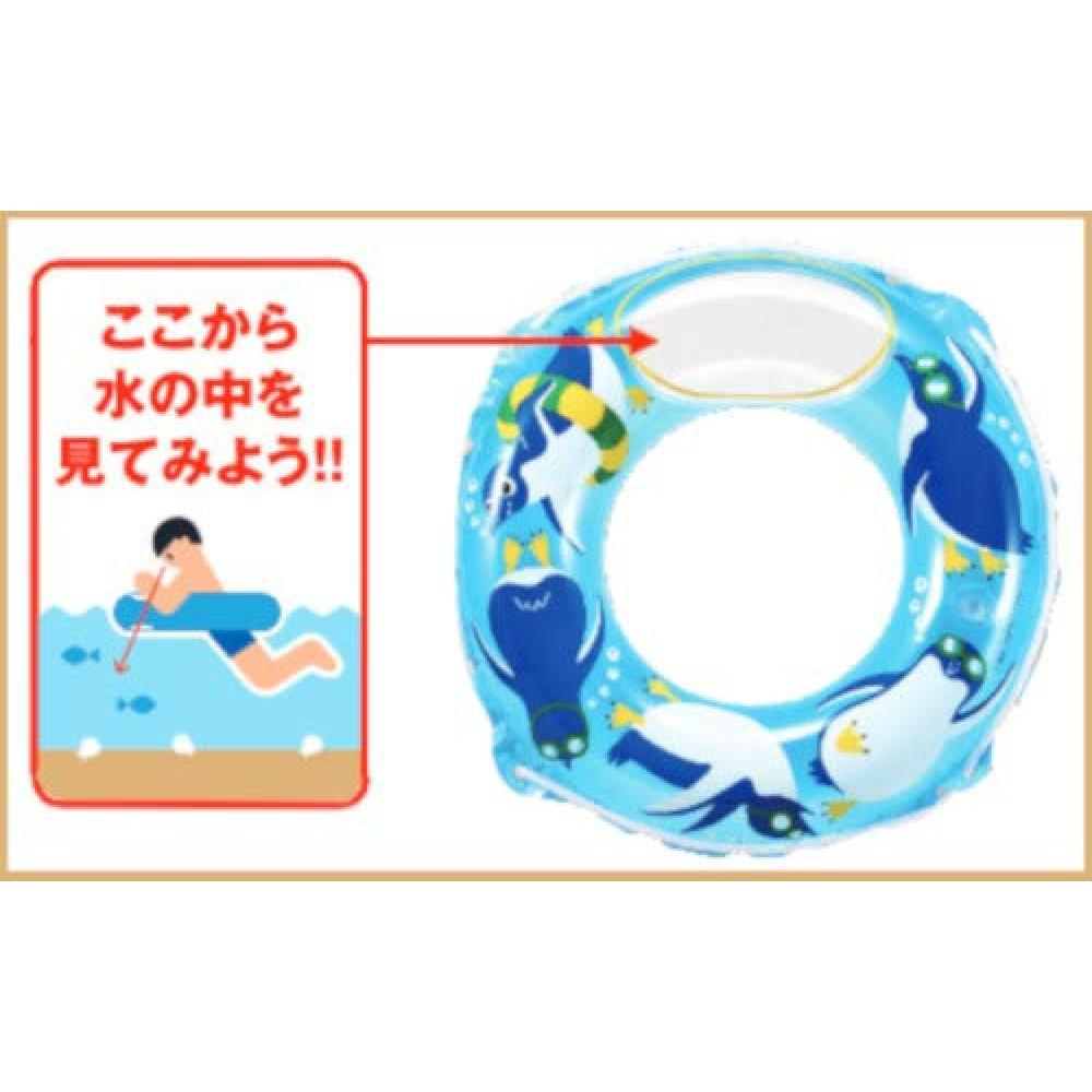 Floating ring blue/penguin 50cm WN6350 excluding hioki