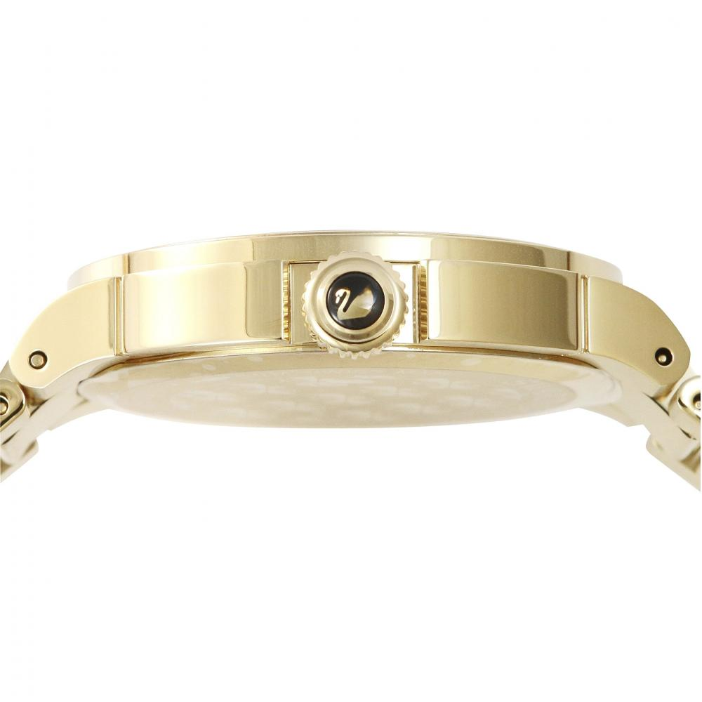 SWAROVSKI watch City Yellow Gold Quartz Bracelet 5213729 Ladies