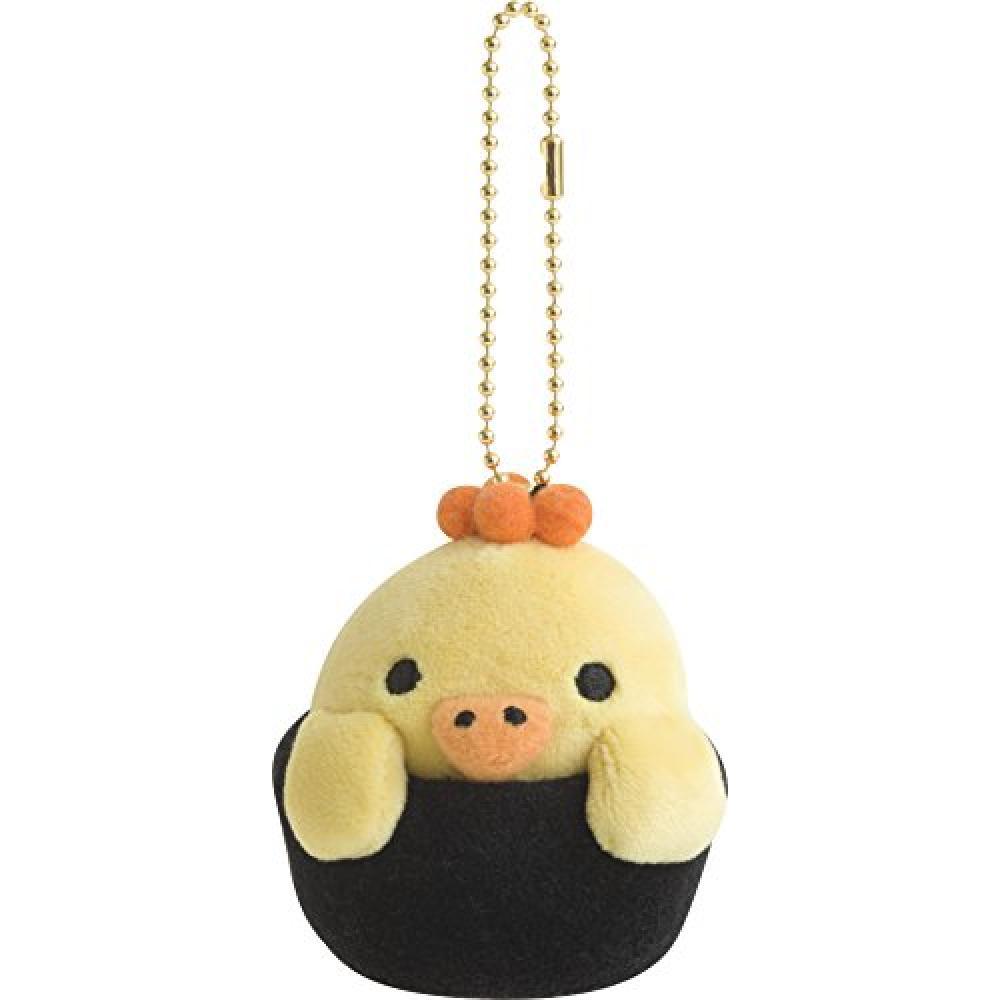 Rilakkuma (Relax) mode clot hanging sushi stuffed animals (birds, salmon roe warship)
