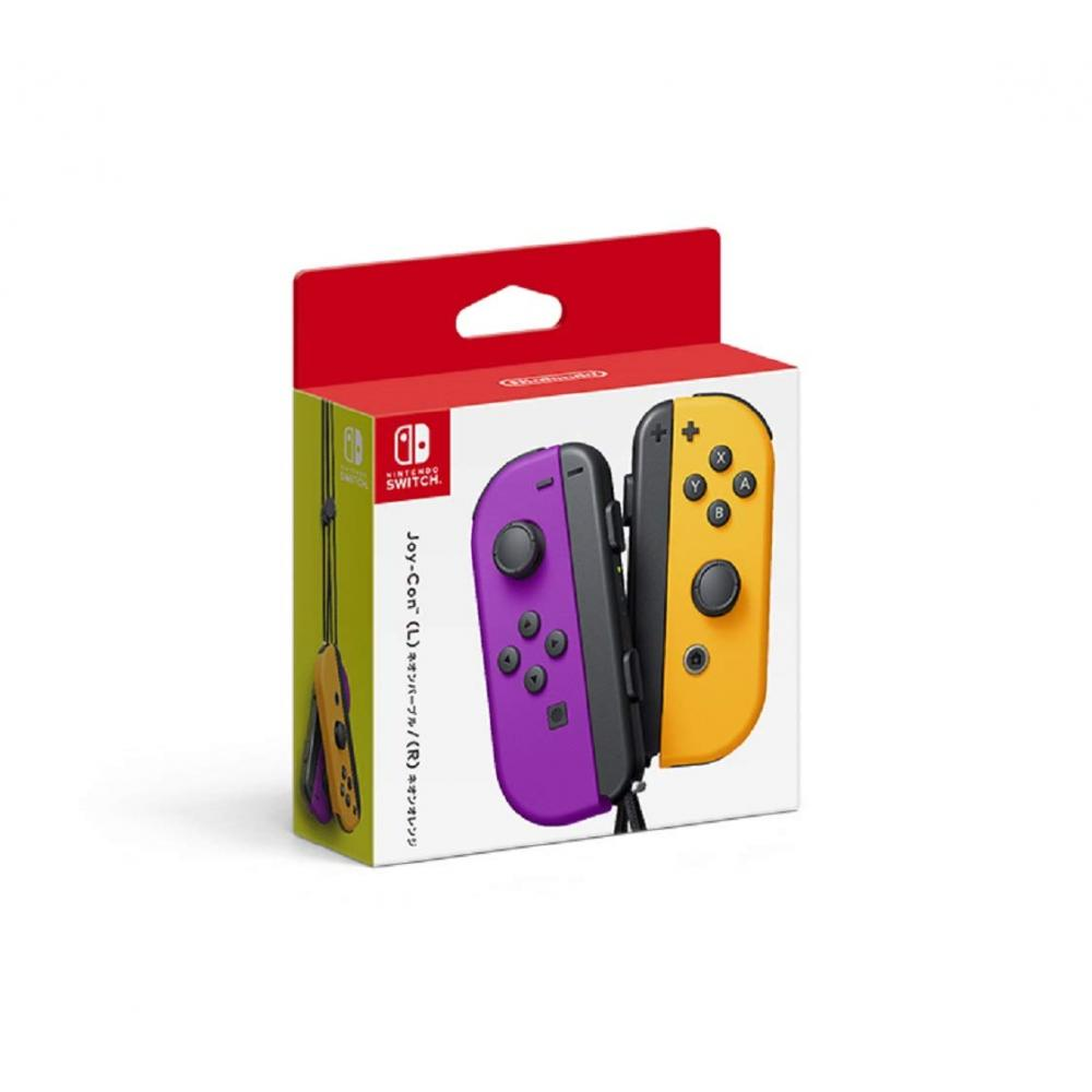 [Nintendo] Joy-Con (L) neon purple / (R) neon orange