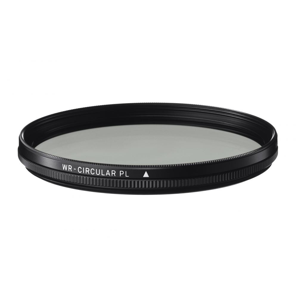 SIGMA camera filter for WR CIRCULAR PL 77mm circularly polarized light water-repellent 930,837