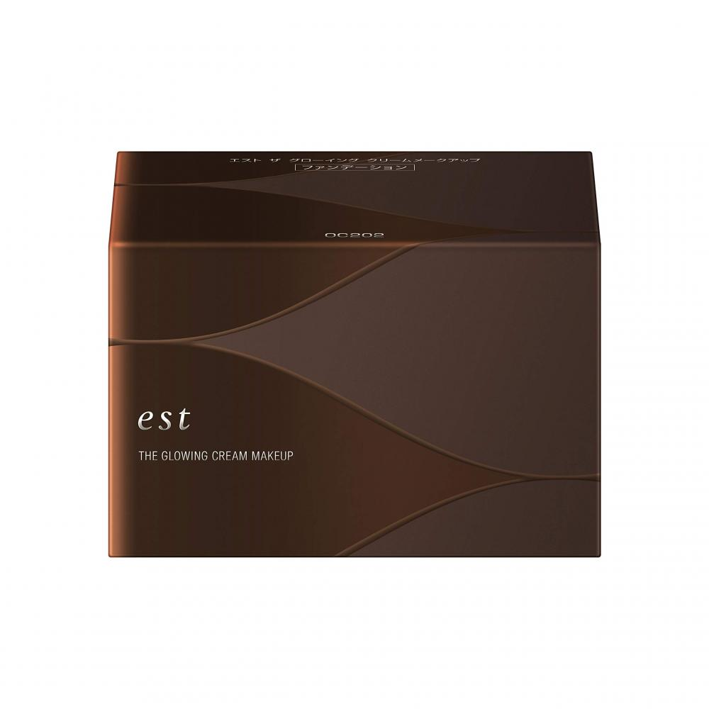 est Est The Glowing Cream Makeup OC202 Foundation 202 30g