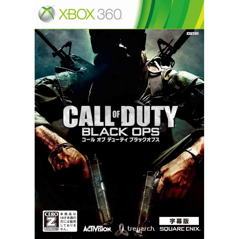 """Call of Duty Black Ops (Subtitled Edition) [CERO Rating """"Z""""]-Xbox360"""