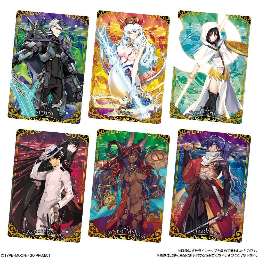 Fate / Grand Order wafers 7 (20 pieces) Candy Toys & wafers (Fate / Grand Order)