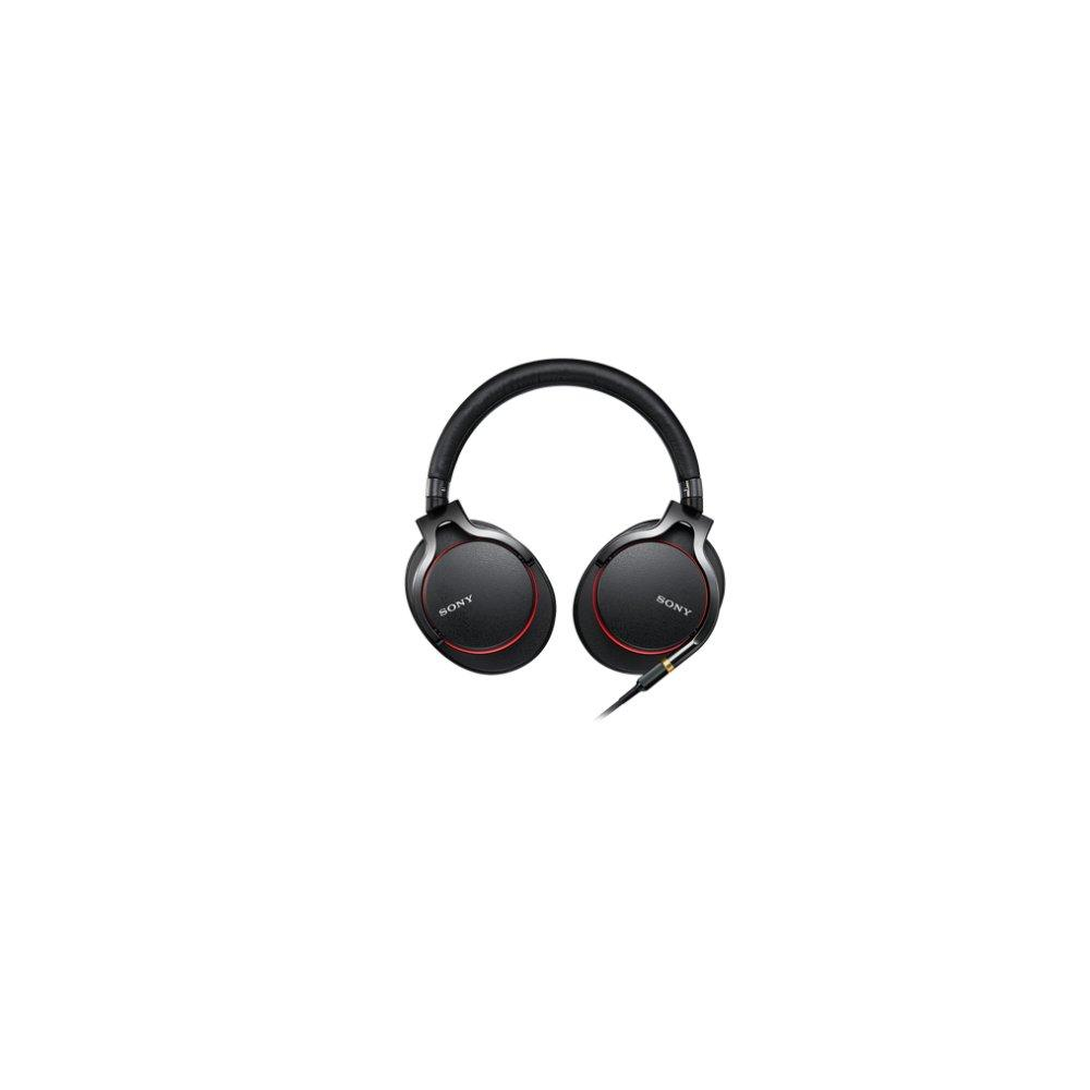 Sony SONY Headphones MDR-1A: Hi-Res Compatible Closed Type Foldable Cable Detachable/Balanced Connection Compatible Remote Control Mic Black MDR-1A B