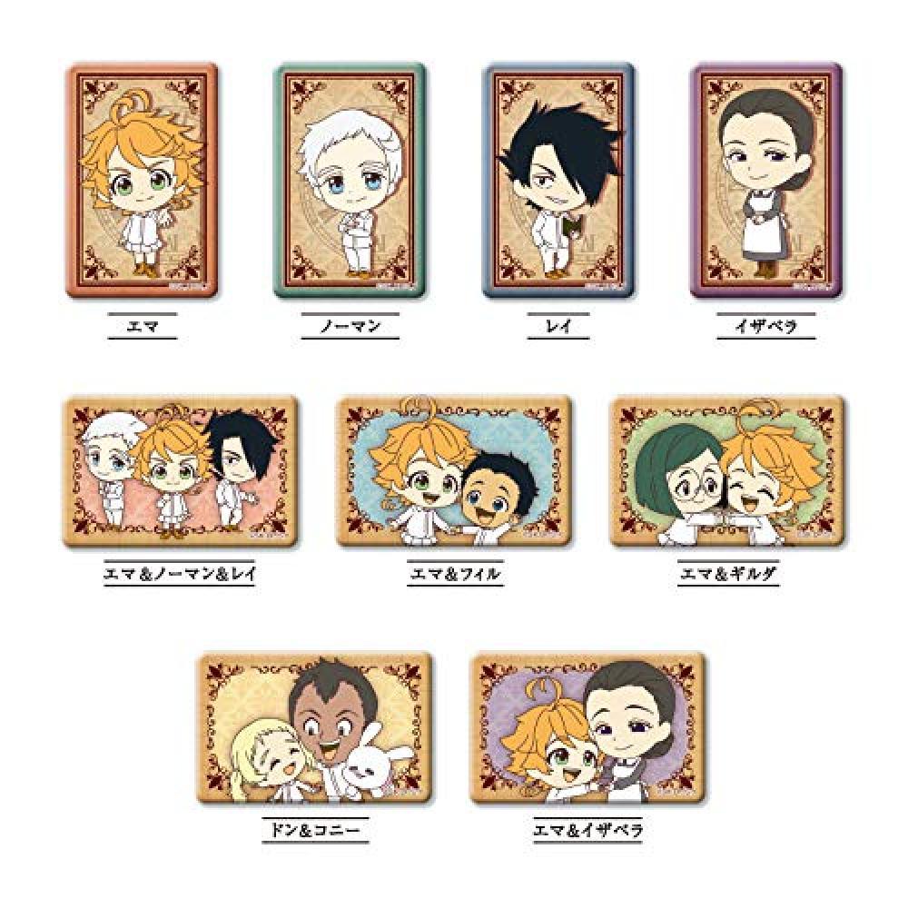 Promised Neverland Shikakui Can Badge Box