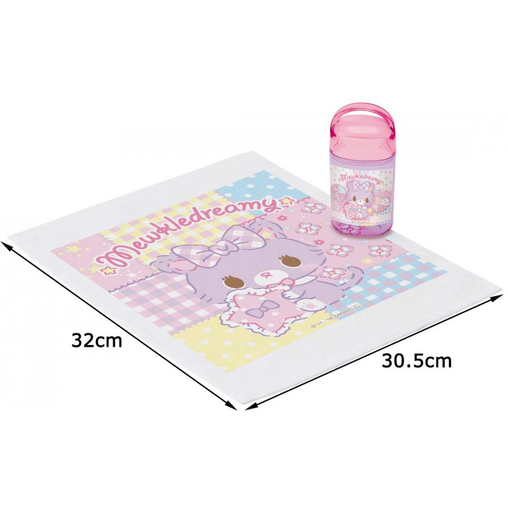 Skater hand towel set hand towel set with case Muccle Dreamy Sanrio Made in Japan 32×30.5cm OA5