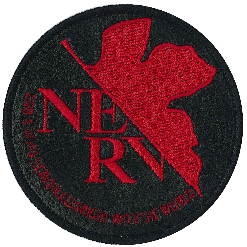 Iroha ism Evangelion Eva emblem Nerv mark black iron adhesive EVA1000-EVA04
