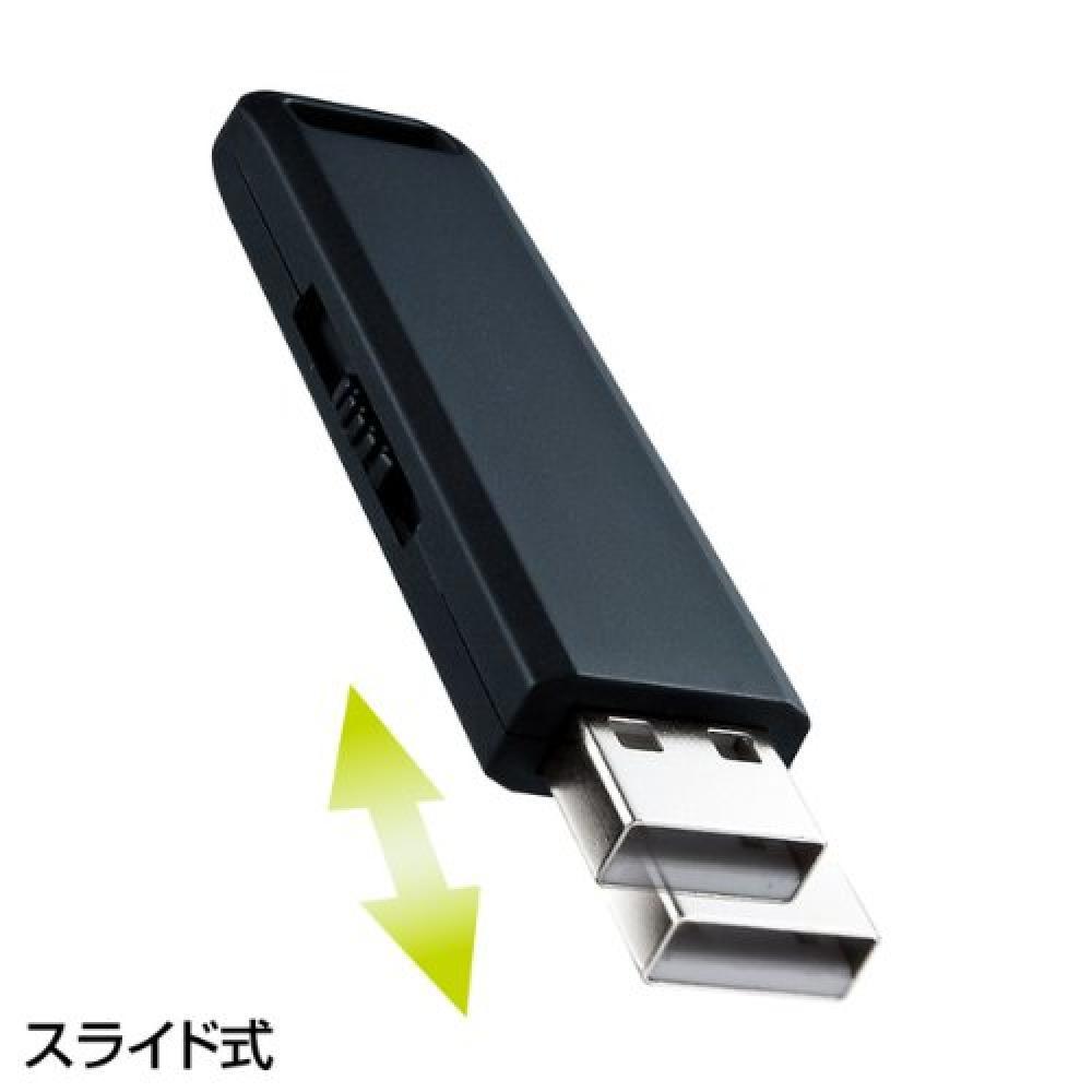 Sanwa Supply USB2.0 memory 8GB black UFD-SL8GBKN