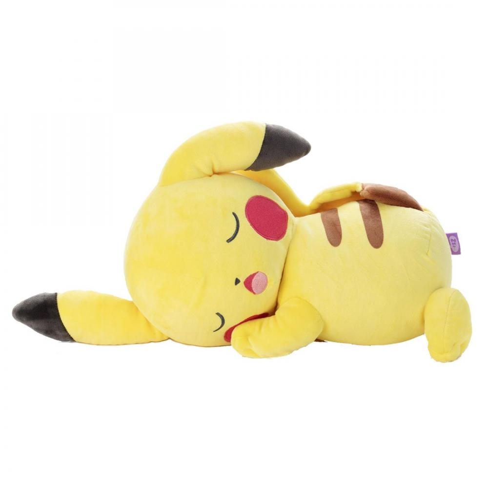 Pokemon sleeping soundly friend stuffed L Pikachu total length of about 49cm