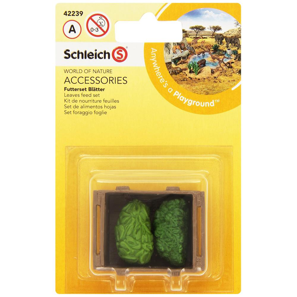 Schleich Wildlife animal feed set (grass) figure 42239