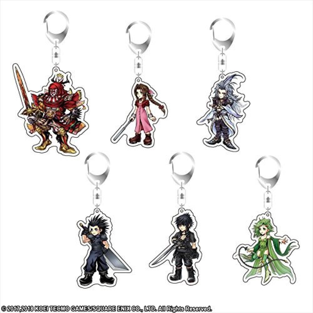 Dissidia Final Fantasy Gilgamesh acrylic key chain