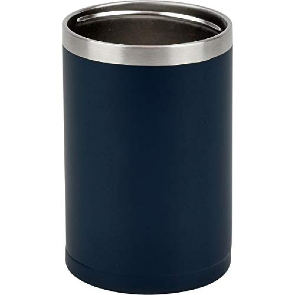 Hehei Phases Cold long-lasting can holder 350ml Japan Navy Vacuum insulation structure Thermal insulation Cold tumbler 2WAY type RH-1534 Fortec All 2 sizes and 3 colors