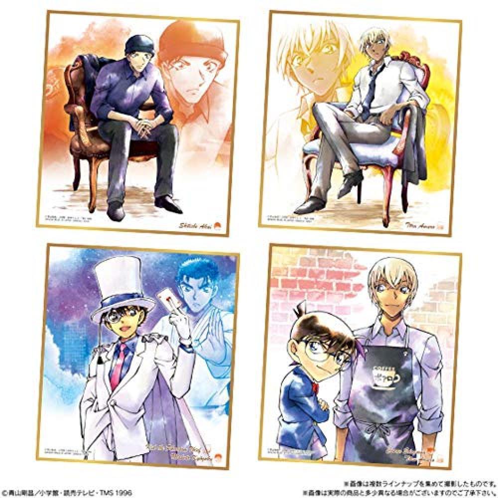 Detective Conan colored paper ART3 (10 pieces) Candy Toys & gum (Detective Conan)