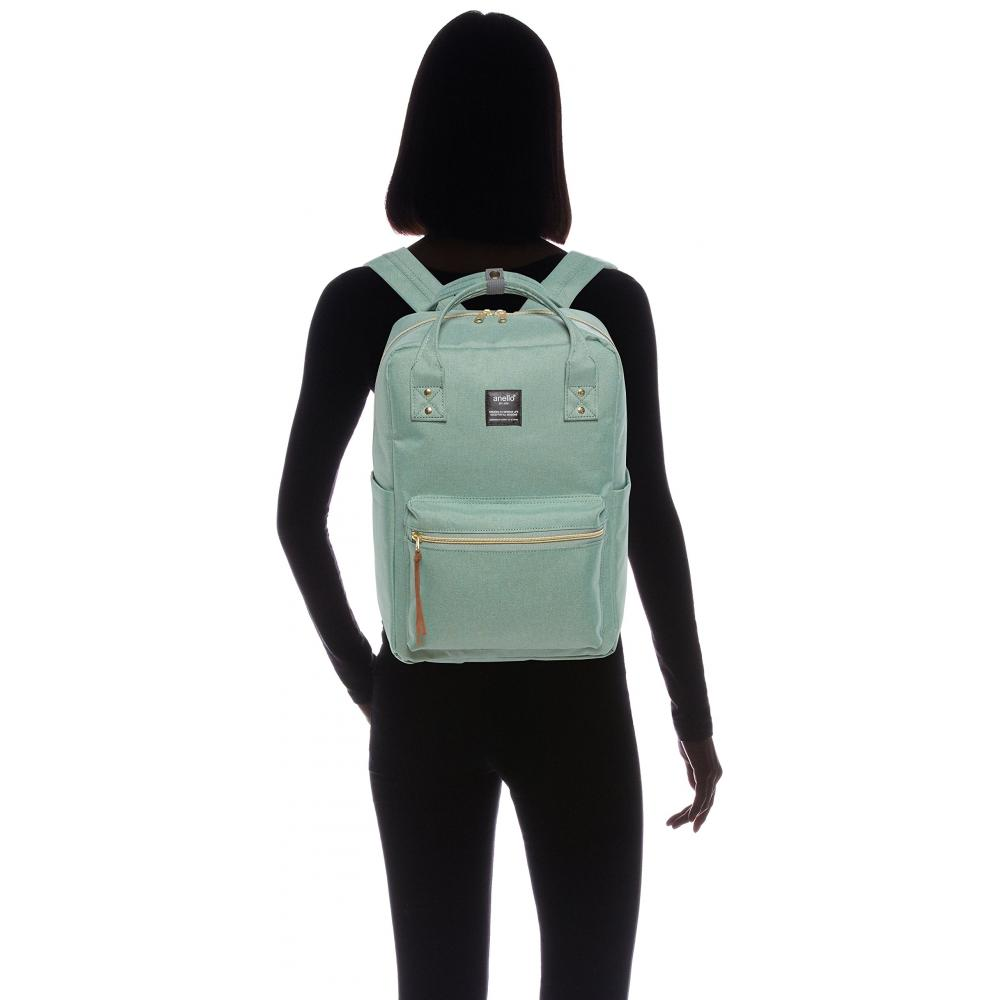 [Anero] Square Backpack REGULAR POST AT-C1221 Mint Green One Size