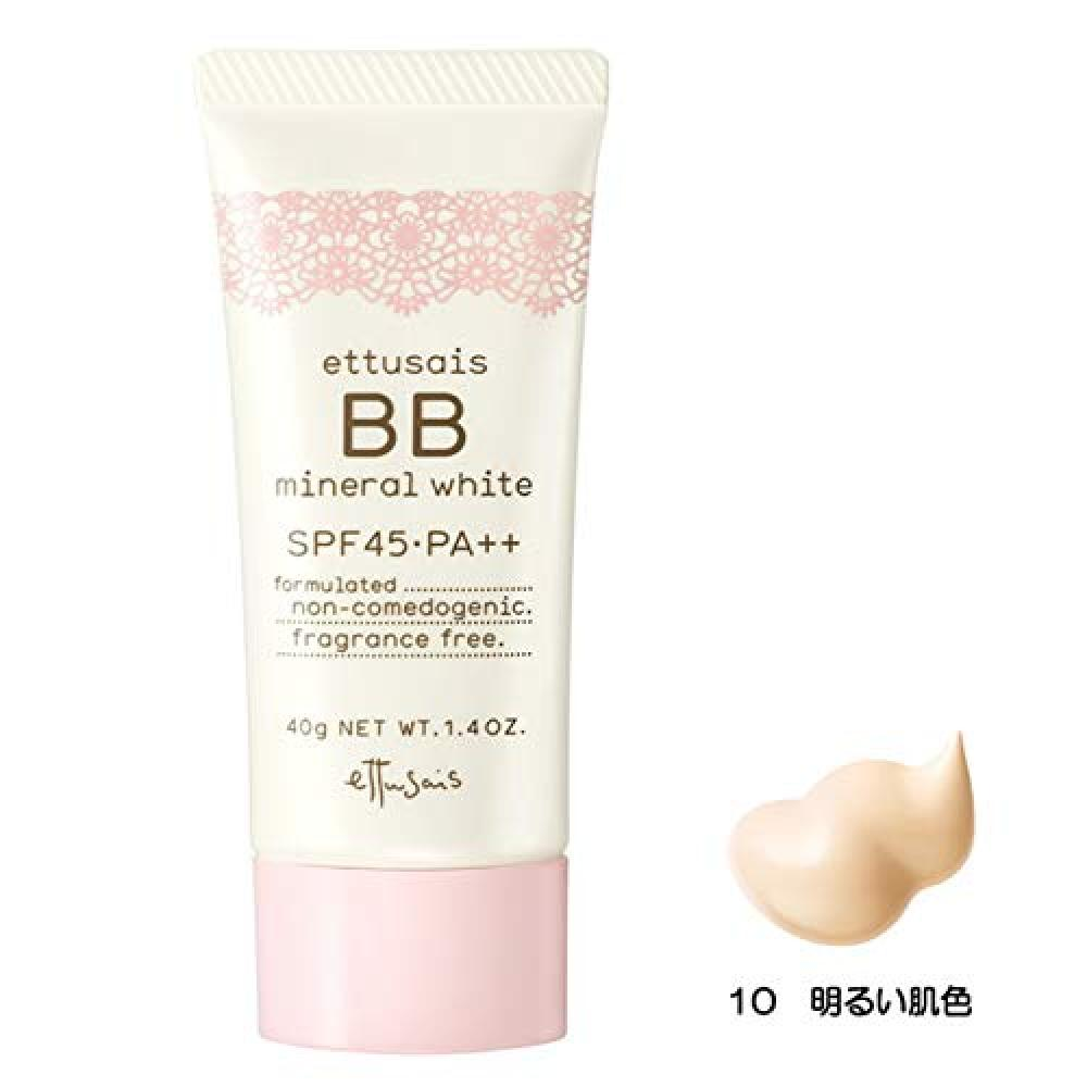 Etuse BB Mineral White 10 (Bright skin color) SPF45・PA++ 40g