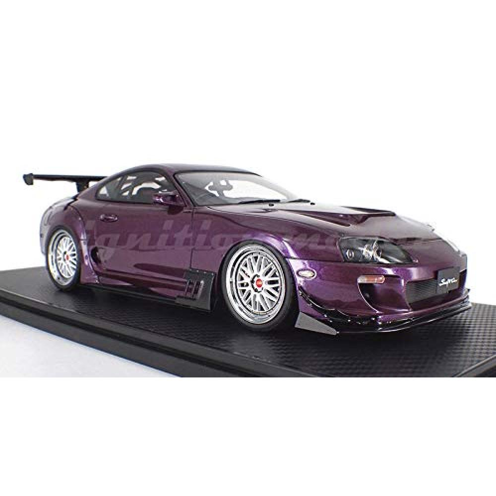Ignition model 1/18 Toyota Supra (JZA80) RZ Purple finished product
