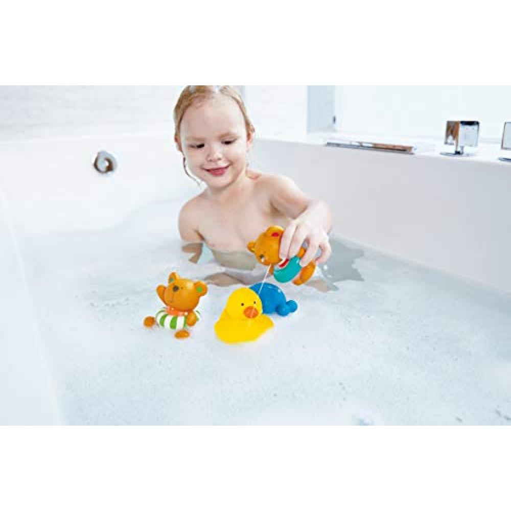 Hape (Hape) Teddy & Friends playing in the water set E0201A