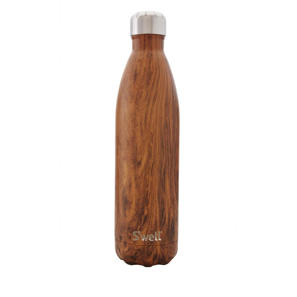 S'well Mug Bottle Brown 7cm in diameter x 26cm in height