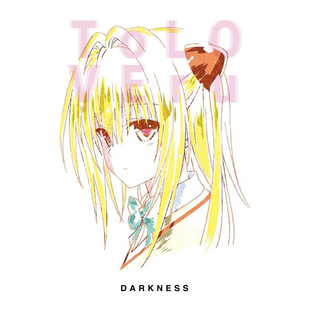 To LOVE-Ru Darkness Ani-Art Golden Darkness T-Shirt Men's M Size