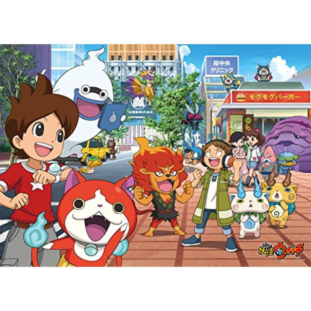 300 Piece Jigsaw Puzzle Yo-Kai Watch Large Piece (38x53cm)