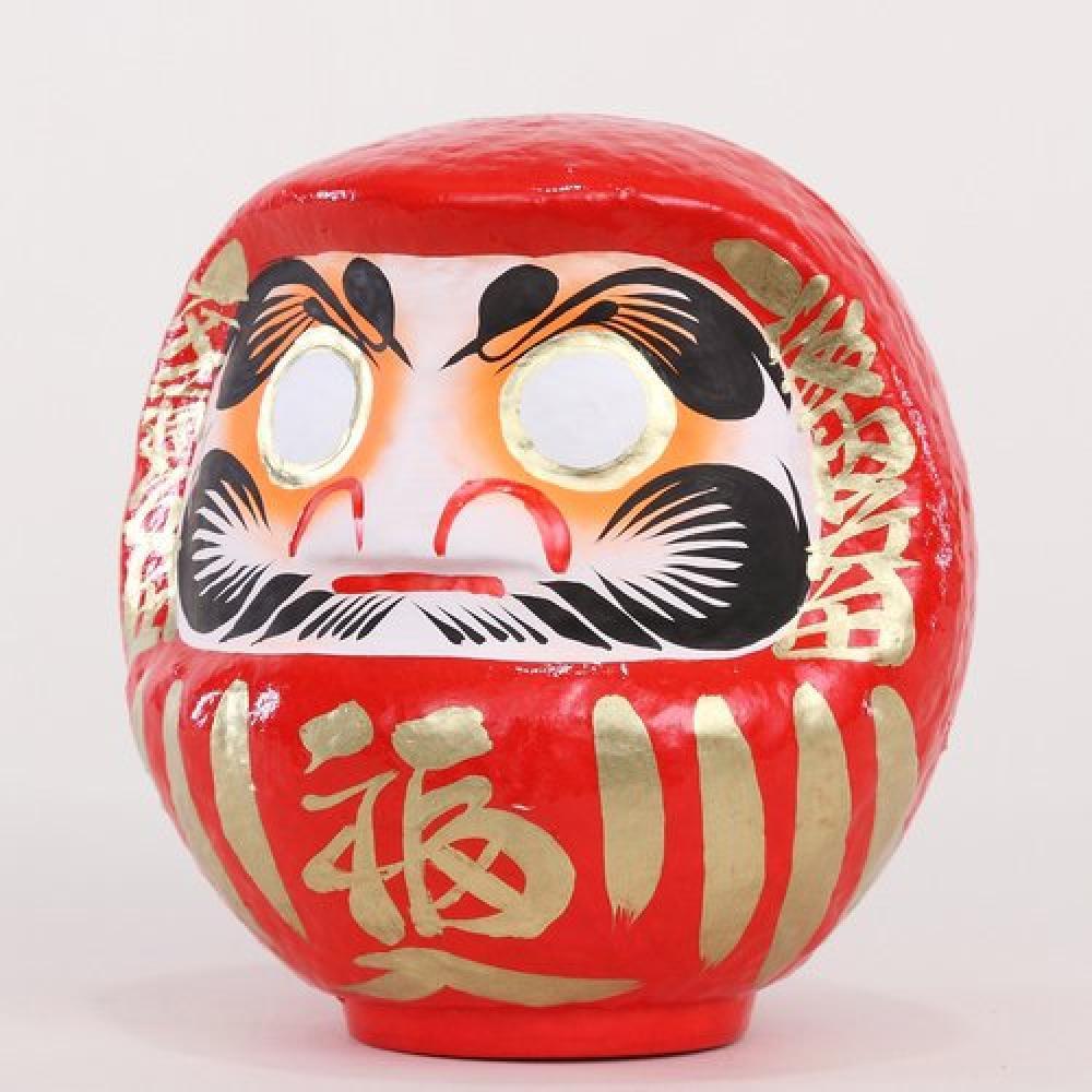 Takasaki Daruma Fuku Daruma No. 2 Red