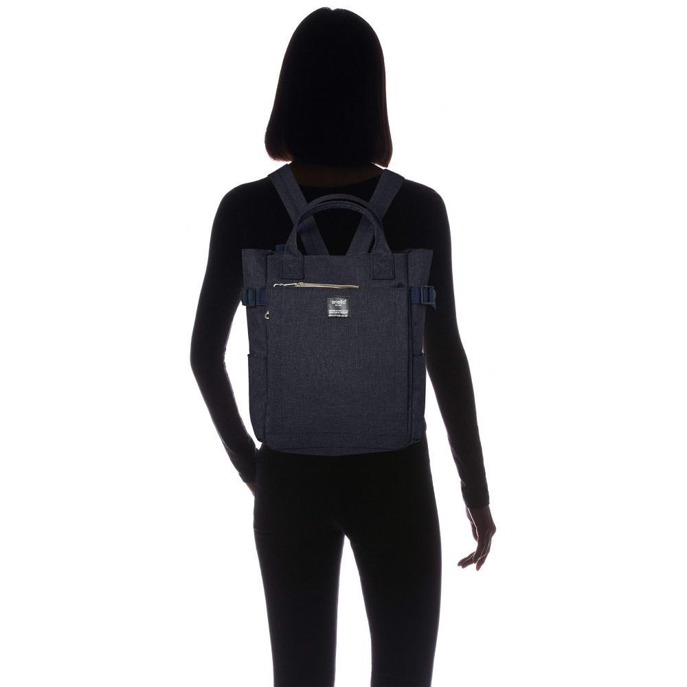 [Anero] 2WAY Tote Backpack SMALL POST AT-C1229 Navy