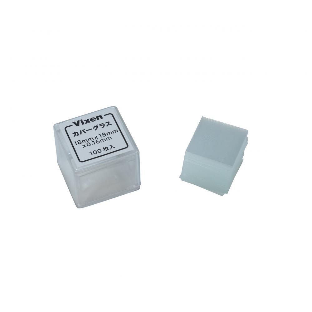 Vixen Microscope Accessories cover glass 100 100 pieces 24021-0